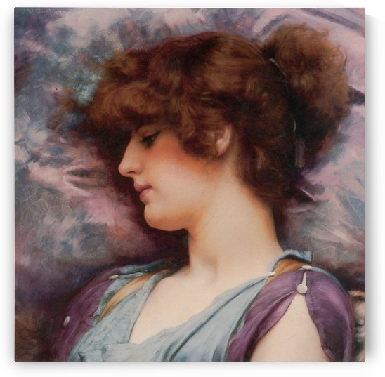 Far Away Thoughts by John William Godward by xzendor7