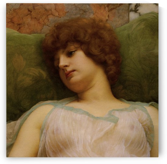 Idle Moments by John William Godward by xzendor7