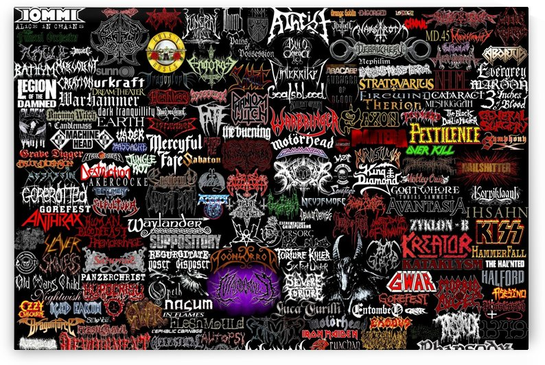 Metal Bands College by Shamudy