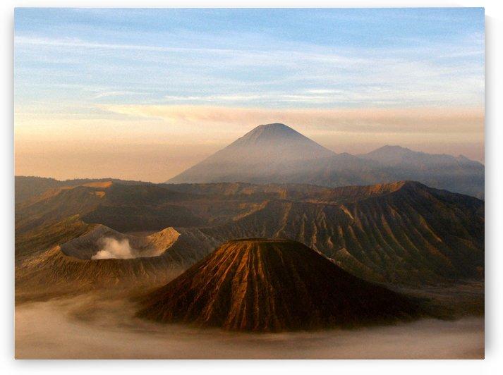 volcano java indonesia mount seremu by Shamudy