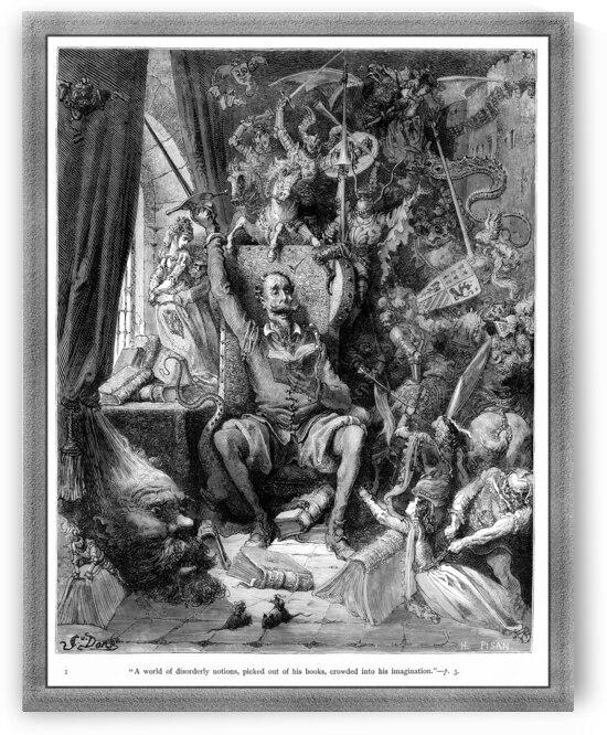 Miguel de Cervantes Don Quixote by Gustave Doré by xzendor7