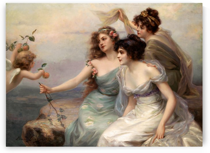 The Three Graces Die drei Grazien by Edouard Bisson by xzendor7