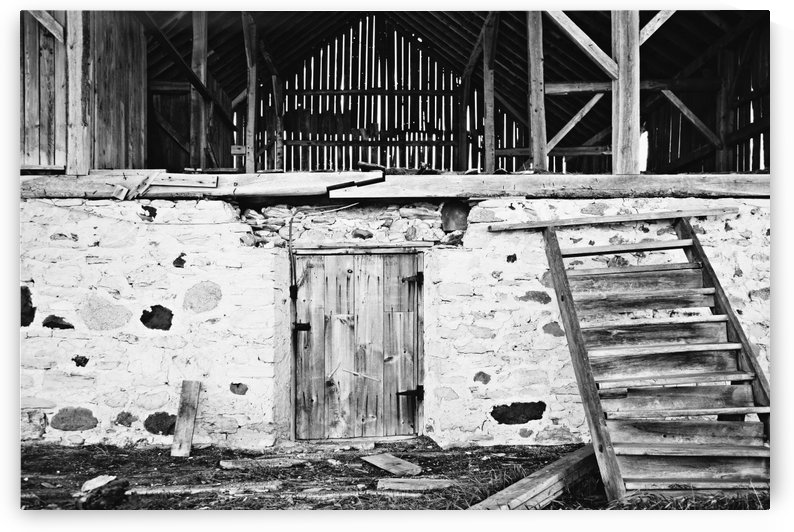 Barn Steps by Alexis Arnold