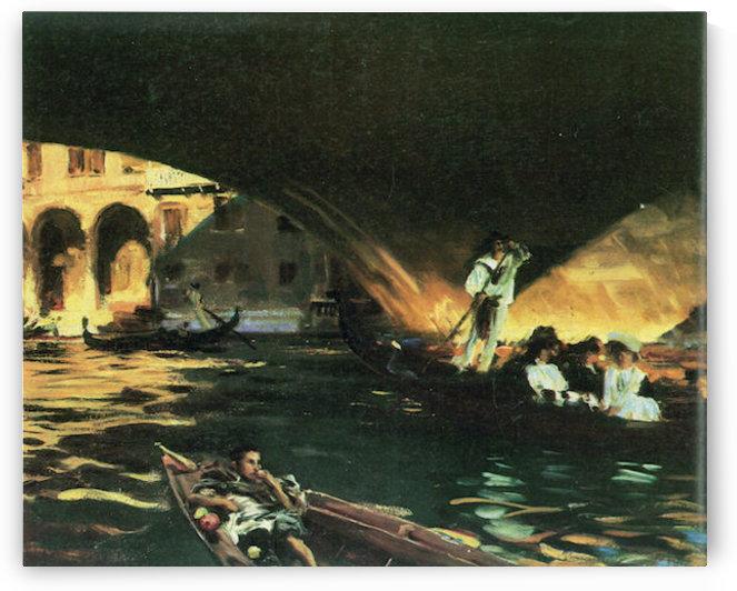 Rialto by John Singer Sargent by John Singer Sargent