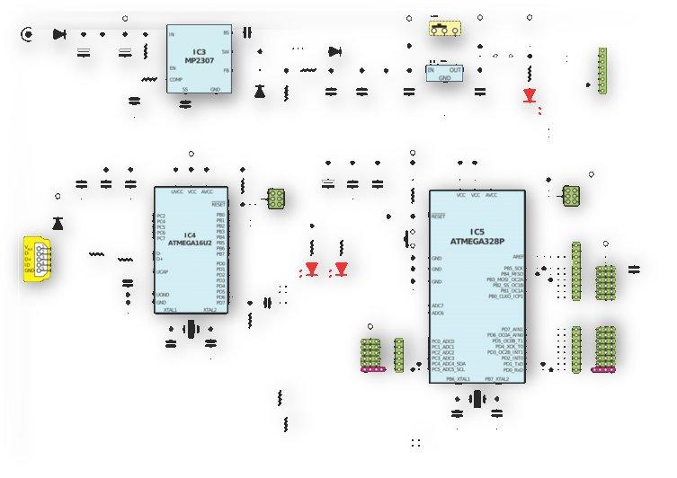 circuits electronics atmel by Shamudy