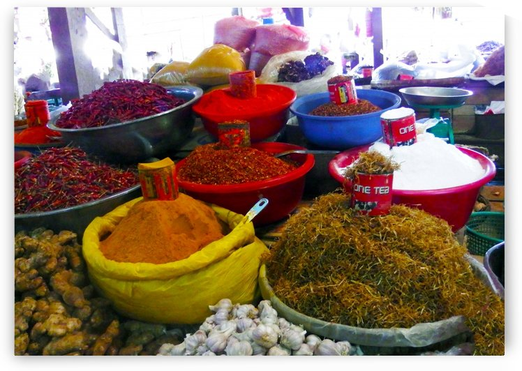 Red Chile and Spice Myanmar by Kurt Van Wagner