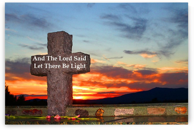 And The Lord Said - Let There Be Light by FoxHollowArt