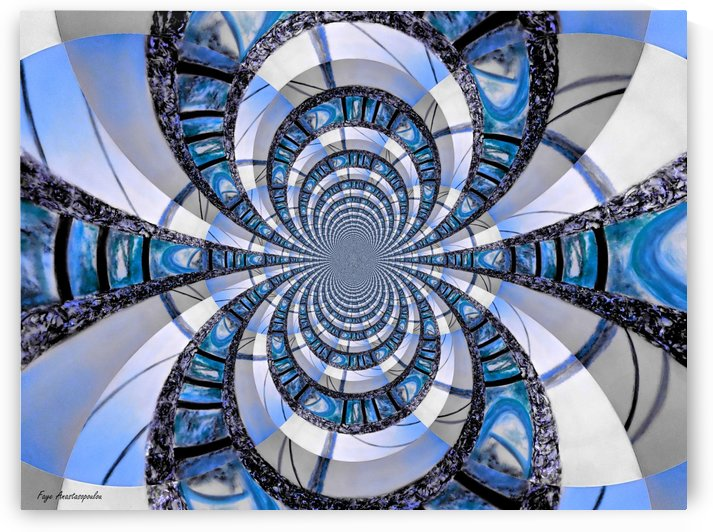 Infinity Blue by Faye Anastasopoulou