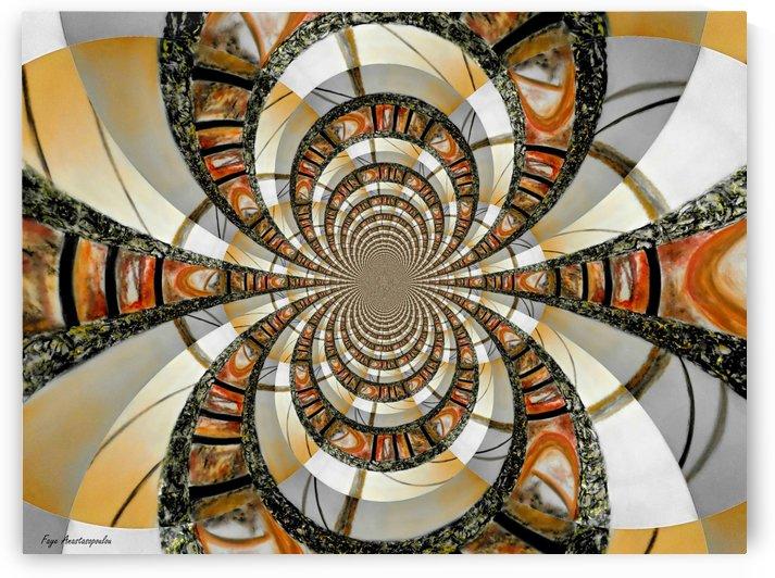 Infinity Orange by Faye Anastasopoulou