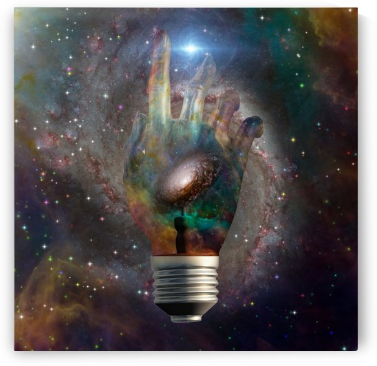 Cosmic Light Bulb by Bruce Rolff