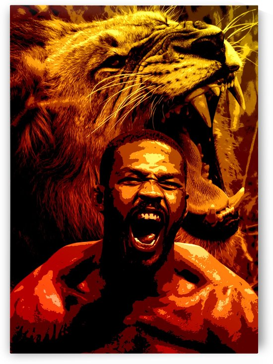 Jon Bones Jones ROAR by ABConcepts