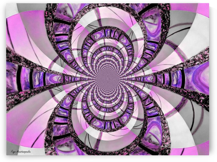 Infinity Purple by Faye Anastasopoulou