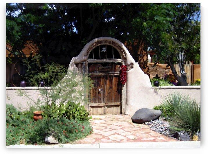 La Entrada a la casa vieja de Mesilla by Kurt Van Wagner