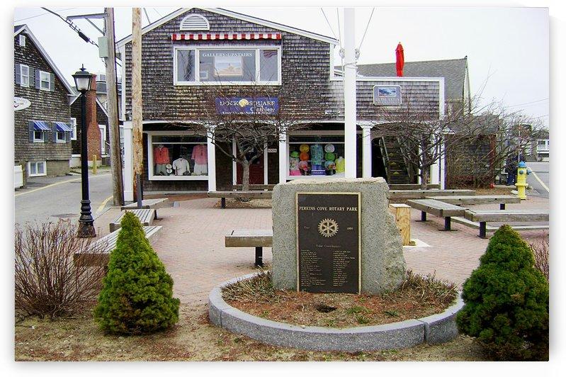 Perkins Cove - Qgunquit Maine by FoxHollowArt