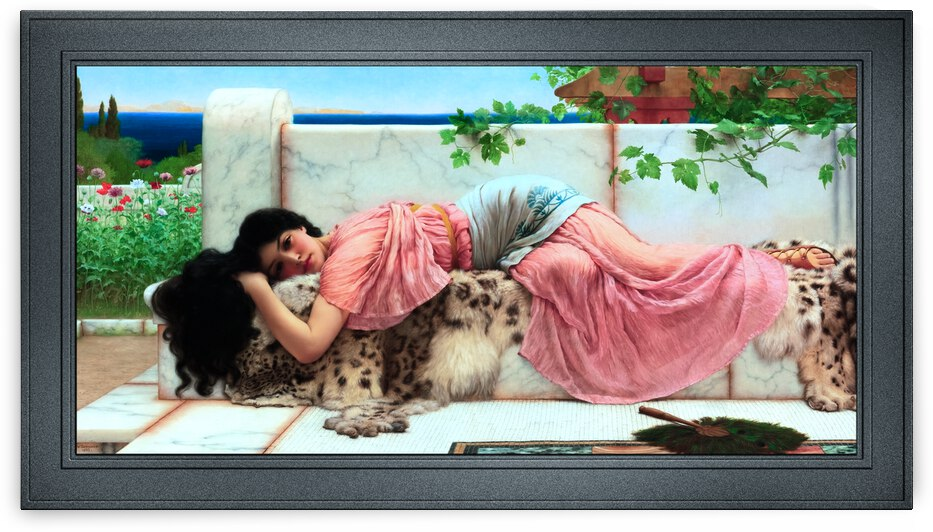 When The Heart Is Young by John William Godward by xzendor7