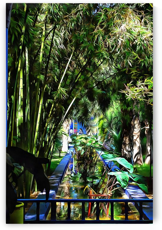 Water Feature Marrakech 1 by Dorothy Berry-Lound