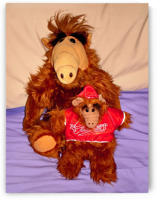 Alf And Alf Junior by FoxHollowArt