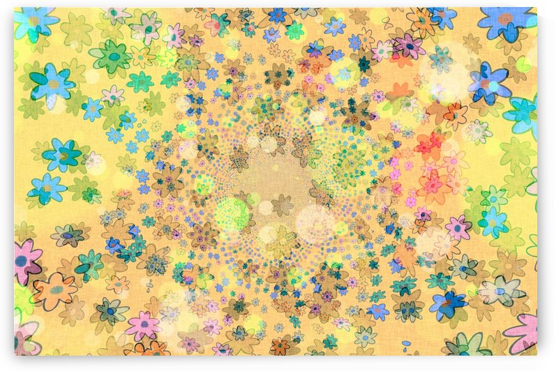 flowers color colorful watercolour by Shamudy