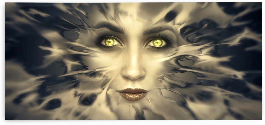 fantasy portrait face eyes dream by Shamudy