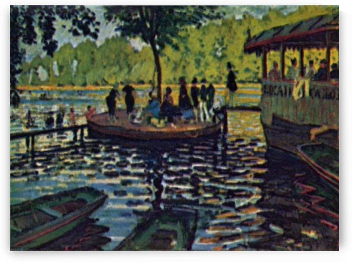 La Grenouillere by Monet by Monet