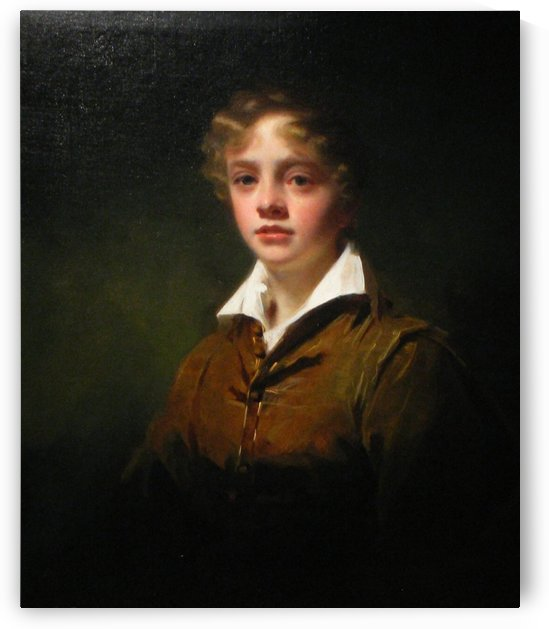 Portrait of William Blair by Henry Raebum