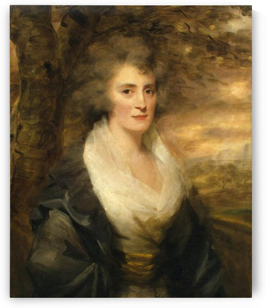 Portrait of Mrs E.Bethune by Henry Raebum