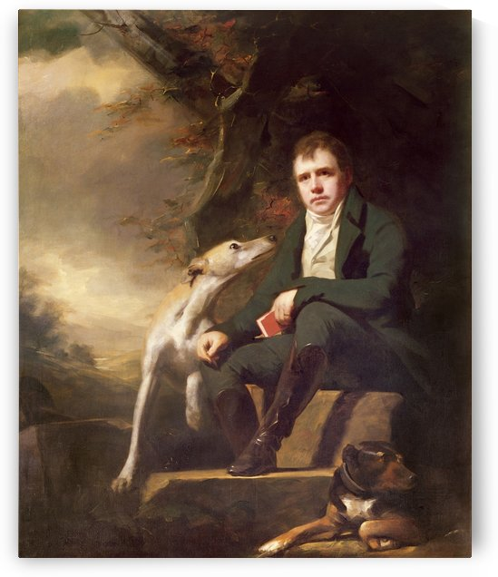 Sir Walter Scott by Henry Raebum