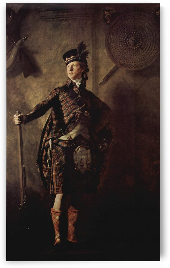 A scotisch man by Henry Raebum