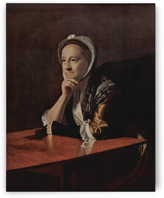 An old lady by Henry Raebum