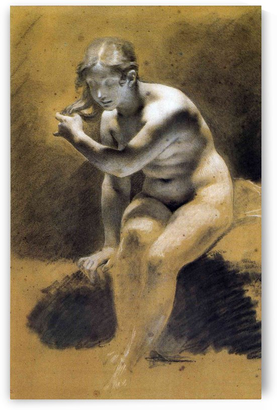 Bathing Venus by Pierre Paul Prudhon