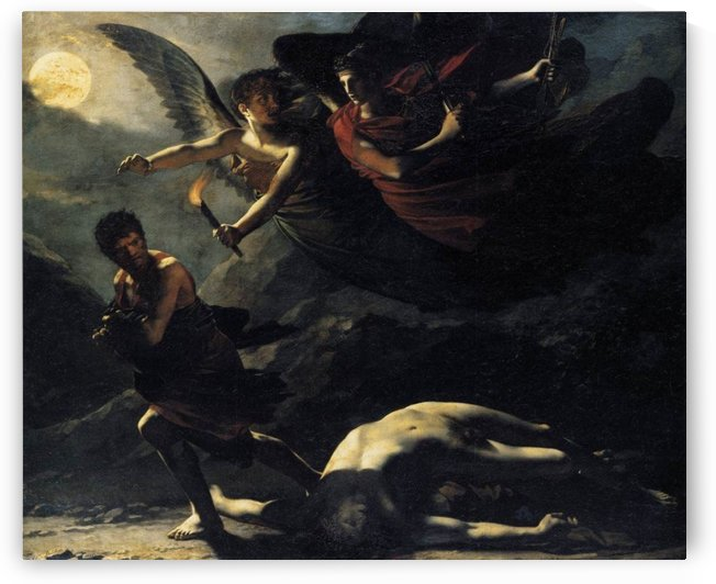 Justice and Divine Vengeance by Pierre Paul Prudhon
