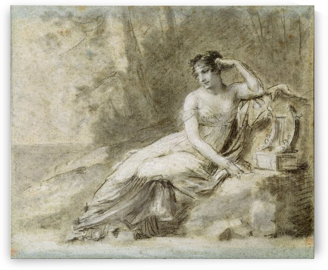 Empress Josephine by Pierre Paul Prudhon