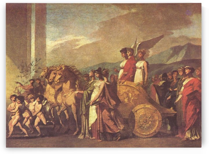 Triumph of Bonaparte by Pierre Paul Prudhon