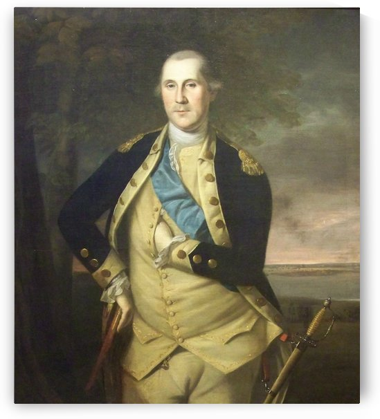 George Wasingthon by Charles Willson Peal