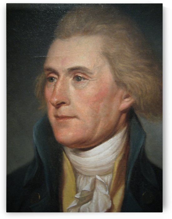 Thomas Jefferson by Charles Willson Peal