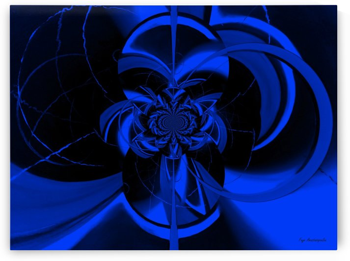 Hypnotic Sapphire by Faye Anastasopoulou
