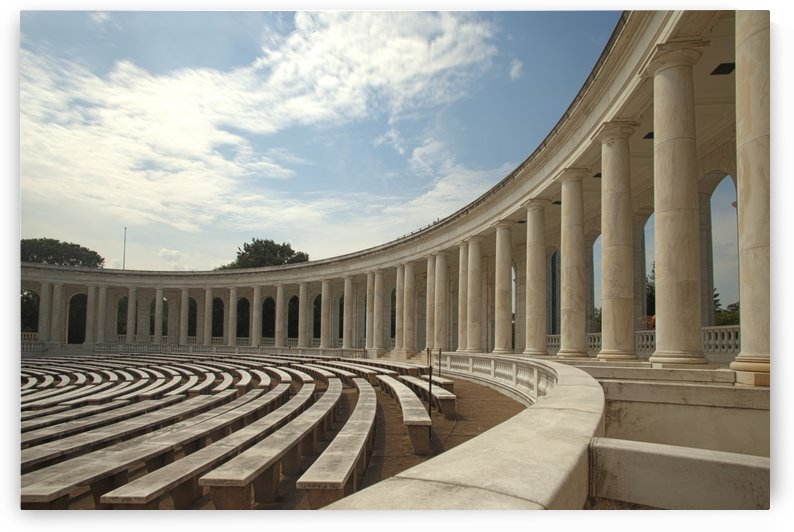 Memorial Amphitheater Tomb of the unknown soldier Washington DC USA by Atelier Knox