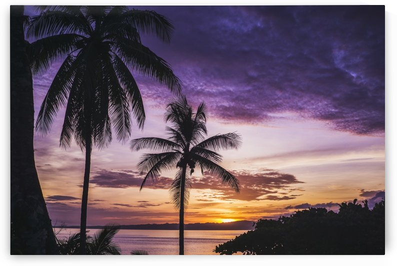 Costa rican sunset Osa Peninsula by Atelier Knox