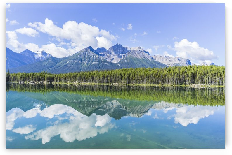 Herbert Lake Jasper National Park by Atelier Knox