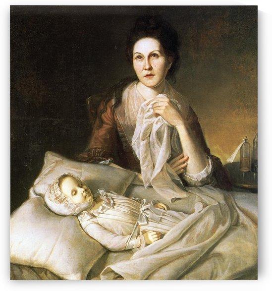Rachel weeping by Charles Willson Peal