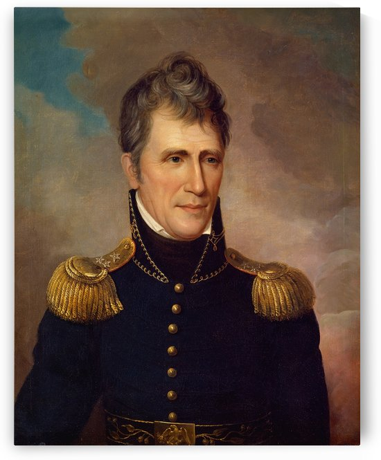 Andrew Jackson by Charles Willson Peal
