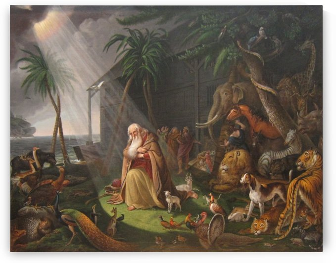 Noah and his Ark by Charles Willson Peal
