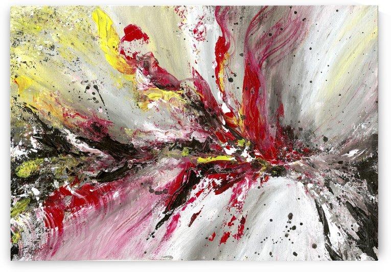 explosion abstract by Karolina Moskwa