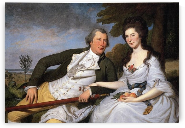 Benjamin and Eleonor by Charles Willson Peal