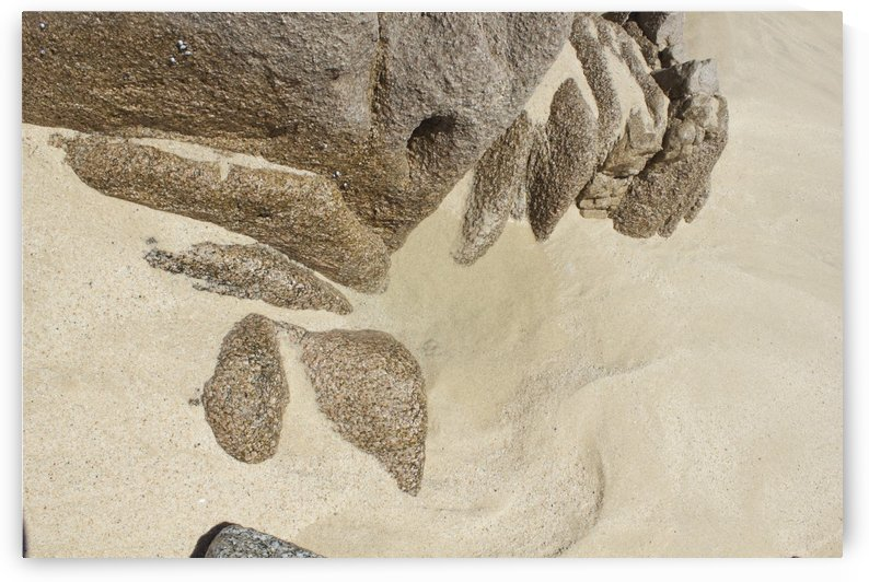 Sand and Rock by Wallshazam