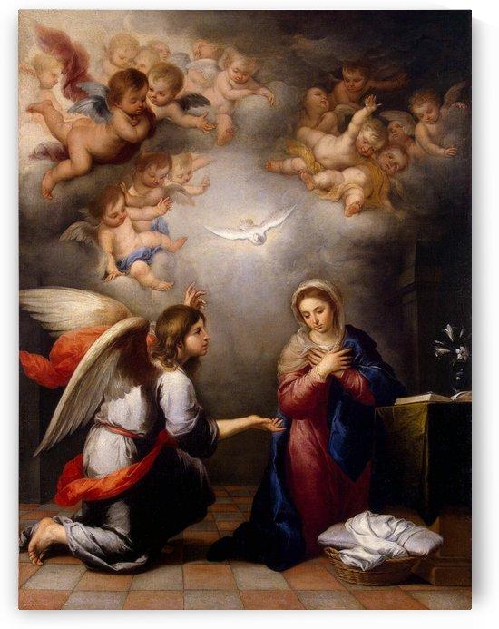 Virgin Mary by Bartolome Esteban Murillo