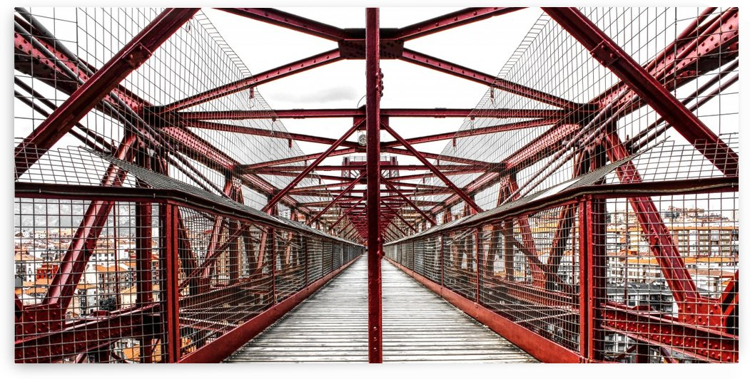 The Bridge - Geometric Pattern  by Bentivoglio Photography