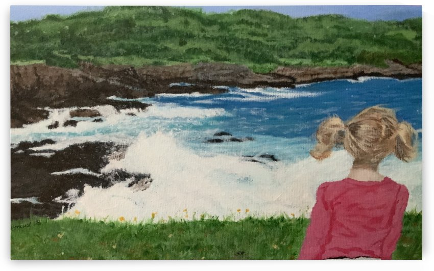 Wave watching by Sherry Reynard