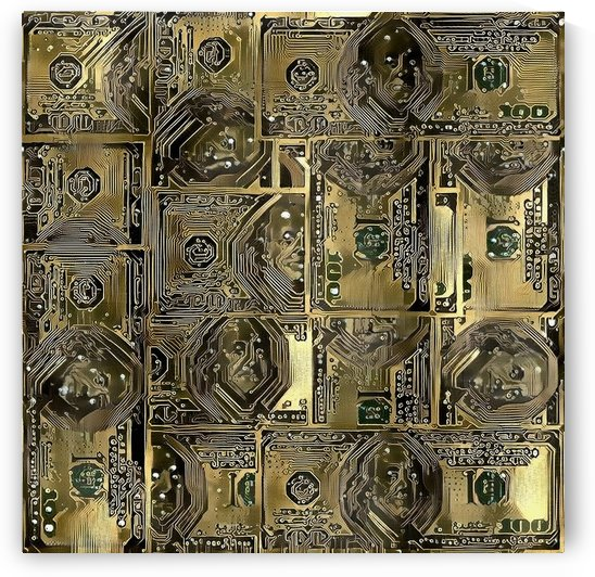 Dollar Pattern by Bruce Rolff