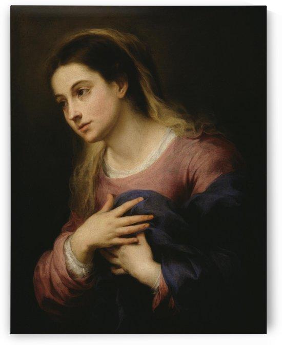 The Anunciation by Bartolome Esteban Murillo